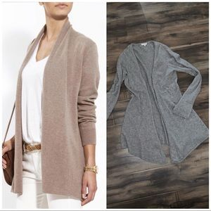 😍MINNIE ROSE Pure Cashmere Open Front Cardigan😍